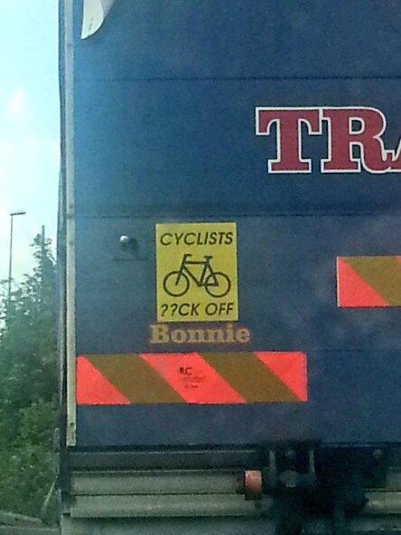 Cyclistsfuckoff
