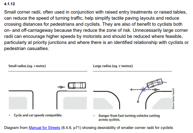 London cycle design standards update